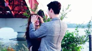 bts w two worlds   touching your hair collection  han hyo joo lee jong suk