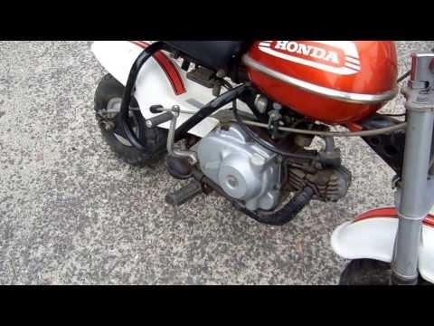 Honda 1970 QA50 Amigo Mini Trail Bike For Sale Z50