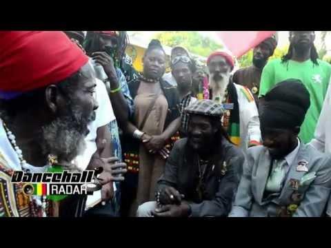 Sizzla At Bob Marley Birthday Celebration