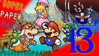 El Nuevo Compañero con Personalidad Explosiva【Super Paper Mario】Ep.13