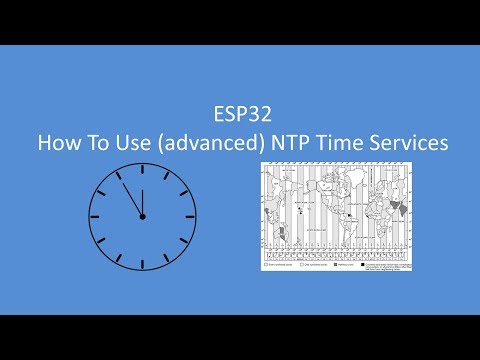 Tech Note 060 - ESP32 Using (more advanced) Time Services - YouTube