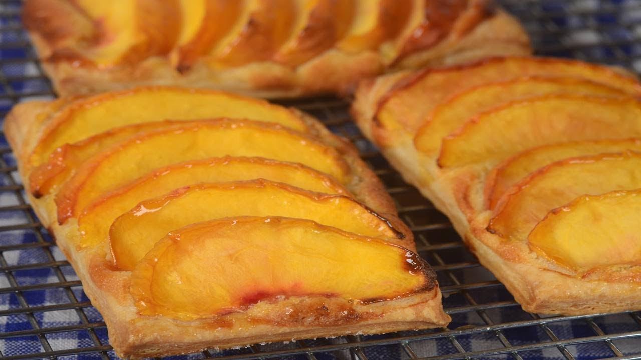 Peach Galette Recipe Joyofbaking Com Video Recipe