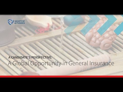 A Candidate's Perspective: A Global Opportunity in General Insurance