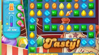 Candy Crush Soda Saga Level 1157 No Boosters