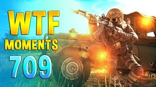 PUBG WTF Funny Daily Moments Highlights Ep 709