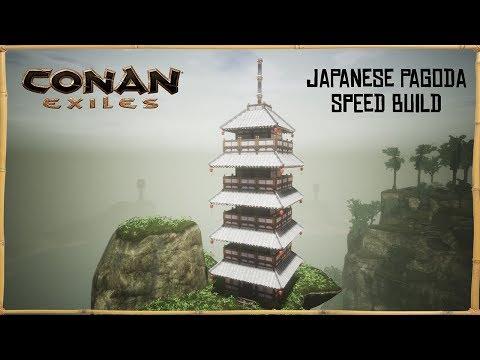 Conan Exiles - Japanese Pagoda (Speed Build) |