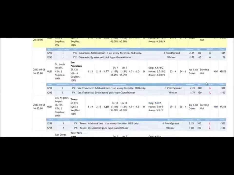 Baseball betting tips how to make a parlay bet on bovada