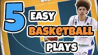 Top 5 Easy Set Basketball Plays