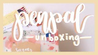 ♡penpal unboxing! #1