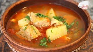 Венгерский СУП-ГУЛЯШ. Ну очень вкусный и ароматный суп из простых ингредиентов!!