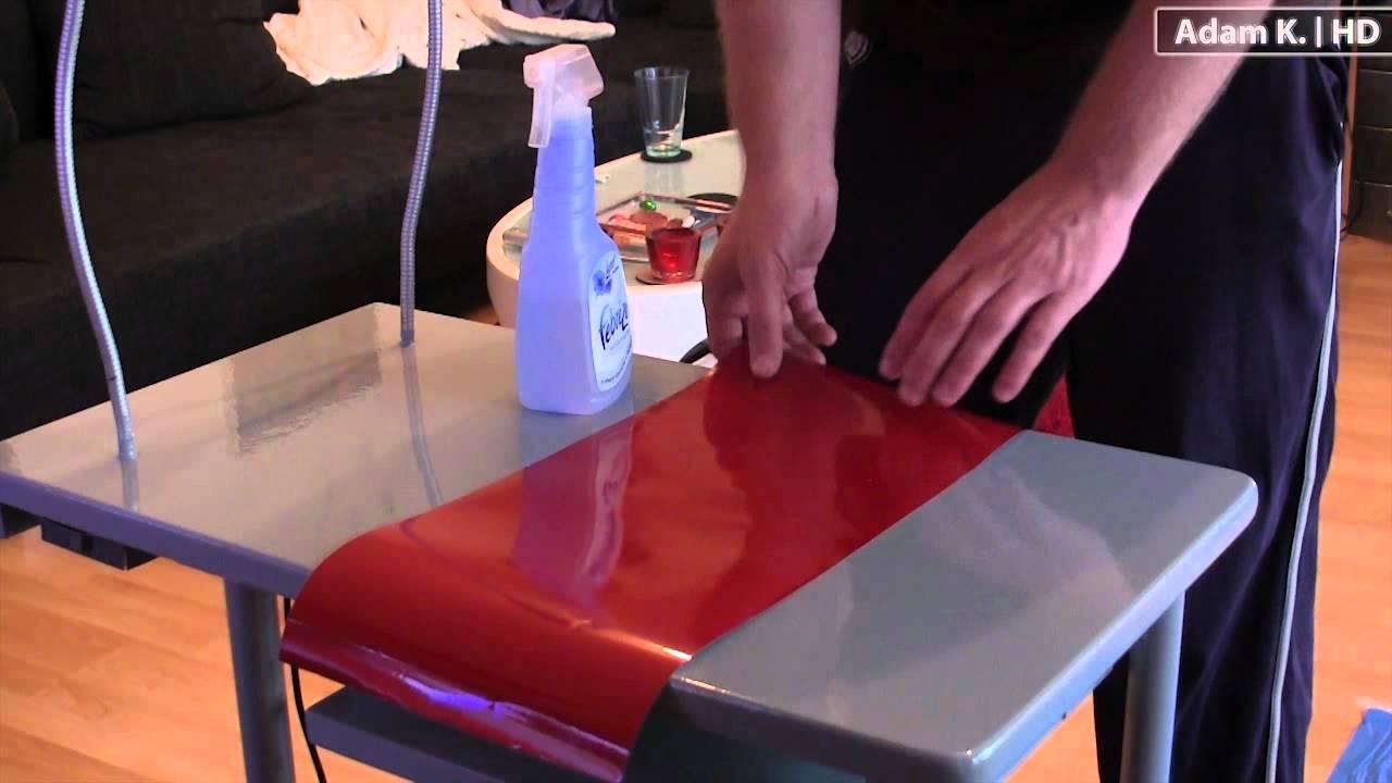 Küche folieren anleitung  Selbstklebefolie verkleben leicht gemacht / kinderleicht ...
