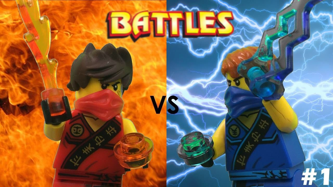 Lego ninjago kai vs jay tournament youtube - Ninjago vs ninjago ...