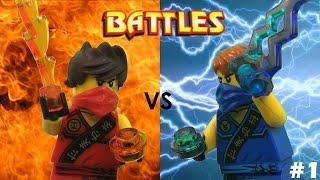 Lego Ninjago: Kai vs Jay (Tournament)