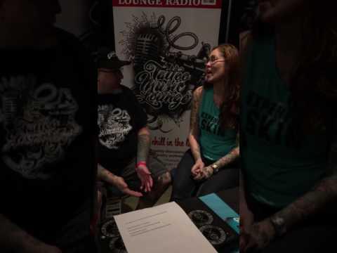 Interview w/Kris Richter:Beelistic Tattoo and Piercing. Cincinnati OH. Motor City Tattoo Expo