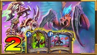Hearthstone: New Quest Hakkar, Valdris, Rafaam Warlock | It's Actually OP! Part 2 Descent of Dragon