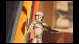 MidKnight- Paper Cut Stop Motion Animation