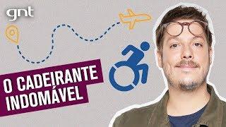 Histórias da Plateia: cadeirante no aeroporto, irmãs Jaciara e mais | Que História É Essa, Porchat?