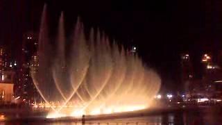 Dubai Fountain Chinese Song