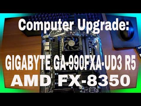 ♠ Upgrading My Computer: GIGABYTE GA-990FXA-UD3 R5 Motherboard & AMD FX-8350 Processor (2/10/2016)♠