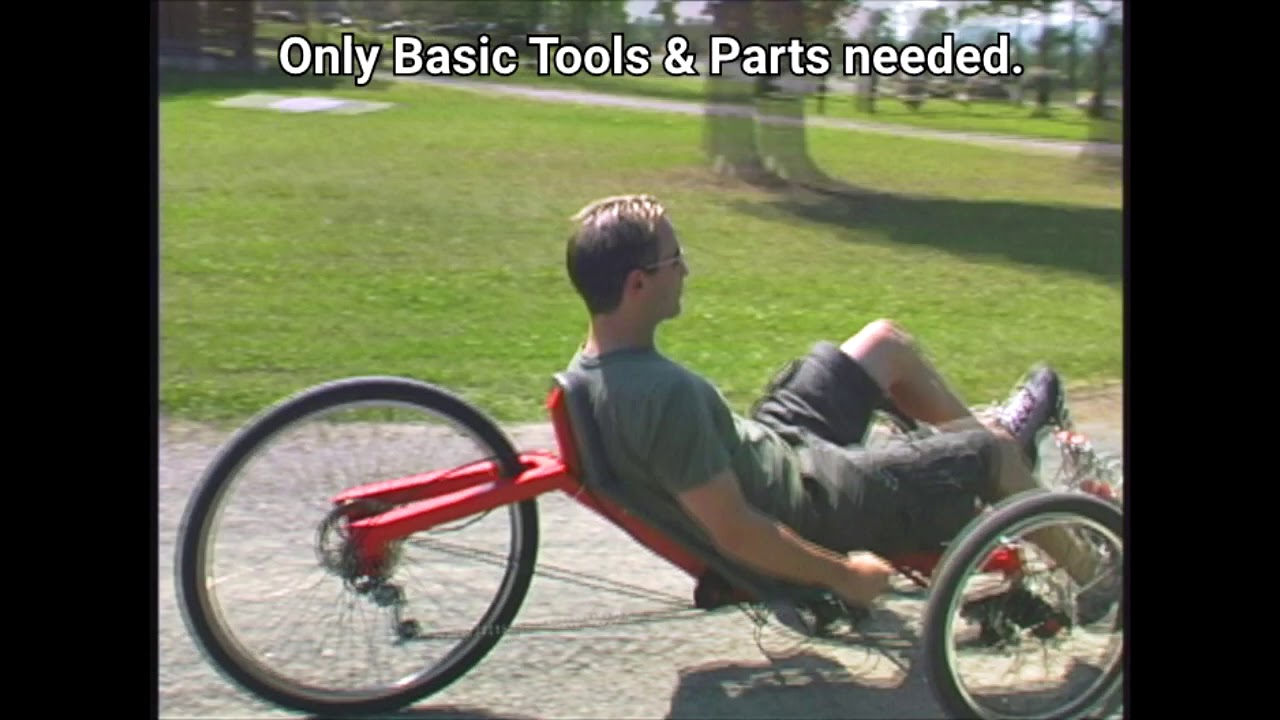 Plans for Recumbent Bikes, Trikes