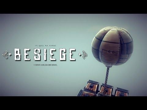 Besiegeで最強の兵器を作る。