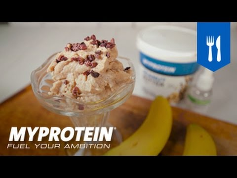 How to Make Ice Cream at Home   Frozen Banana Ice Cream   With Honey & Milk   Recipe by Myprotein