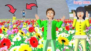 Yuta Mio Jadi Super Kecil Di Padang Bunga Raksasa😲🤣🌻 | Sakura School Simulator | Happy Alicia screenshot 5