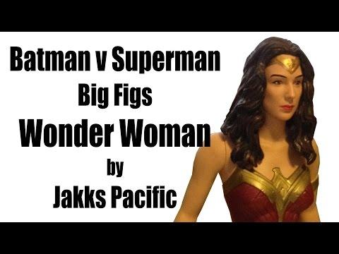 Batman v Superman Big Figs 19 Inch Wonder Woman by Jakks Pacific