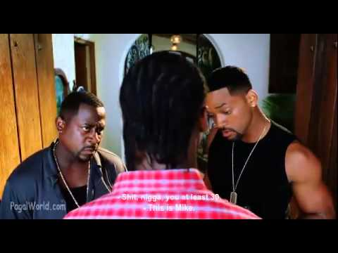 Bad Boys 2 Funny Scene - Reggie - The Shagan - Hindi Dubbed