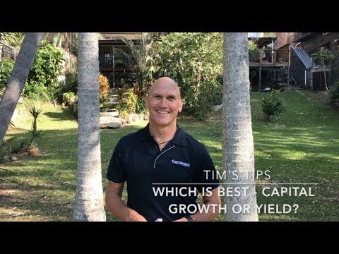 Tim's Tips: Which is best - Capital Growth or Rental Yield?