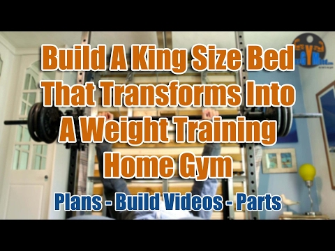 Compact home gym diy space saving exercise equipment youtube