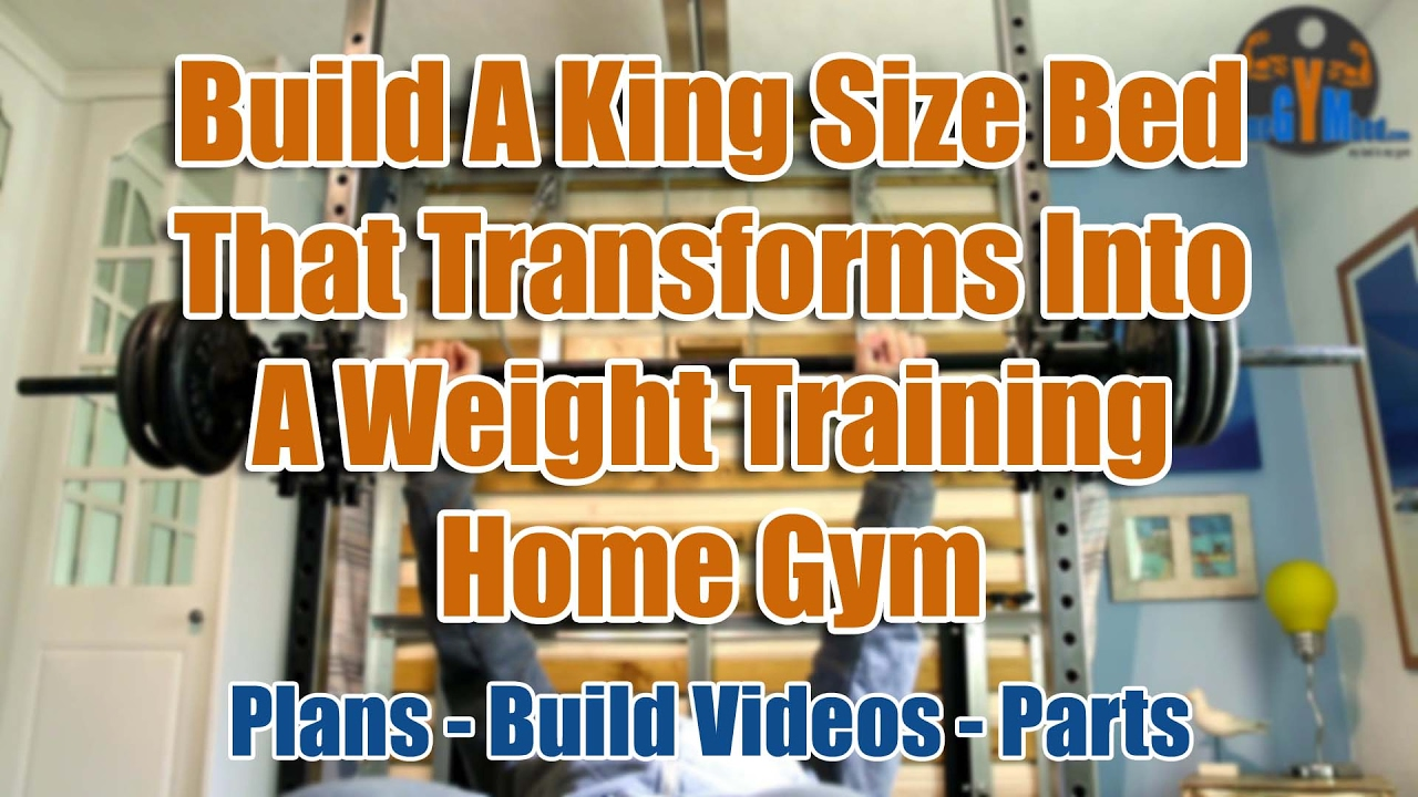 3e8e7650356 Compact Home Gym - DIY Space Saving Exercise Equipment - YouTube