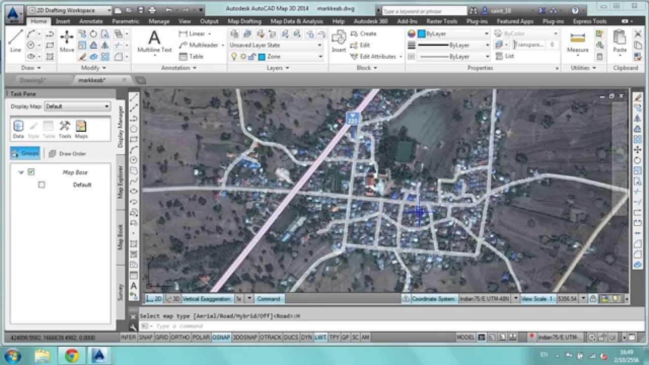 How do you get AutoCAD Map 3D 2014?