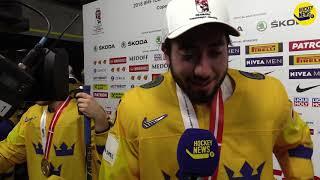Guldfest – då tar Zibanejad sitt ansvar som DJ