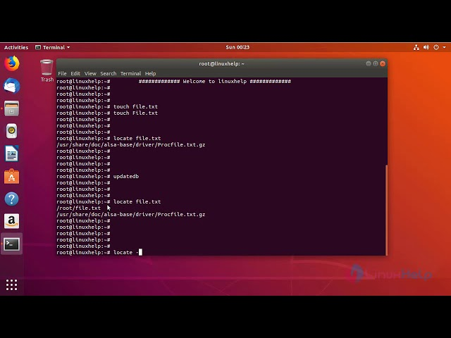 How to use Install and use locate command on Linux