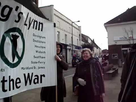 Downham StoptheWar vigil