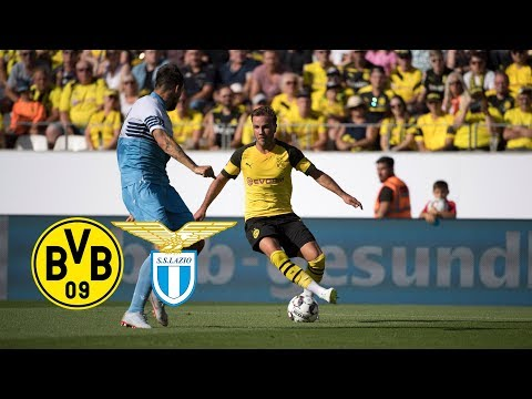 Reus scores & Witsel debuts | BVB vs. Lazio 1-0 | Full Highlights