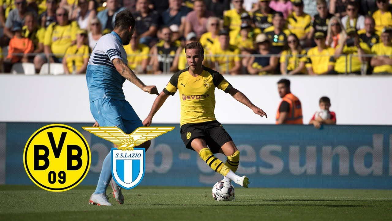 Reus Scores Witsel Debuts Bvb Vs Lazio 1 0 Full Highlights Youtube