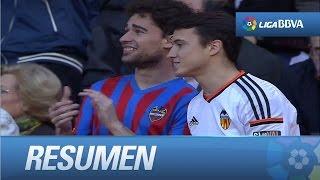 Resumen de Valencia CF (3-0) Levante UD