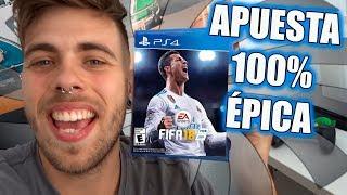 SI PIERDO, LE REGALO EL FIFA 18 A MI AMIGO