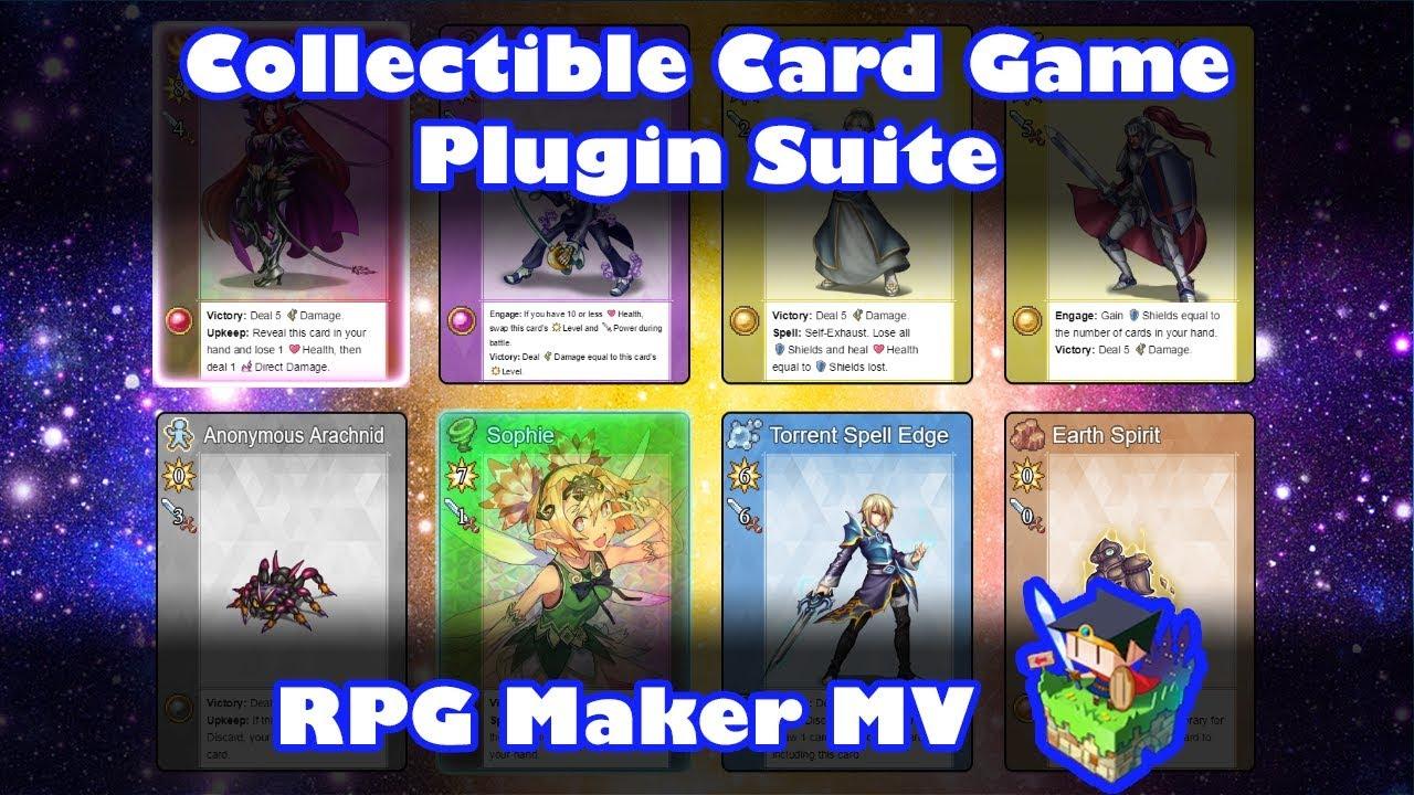 Collectible Card Game plugin suite - Atelier Irina Regarding Card Game Template Maker