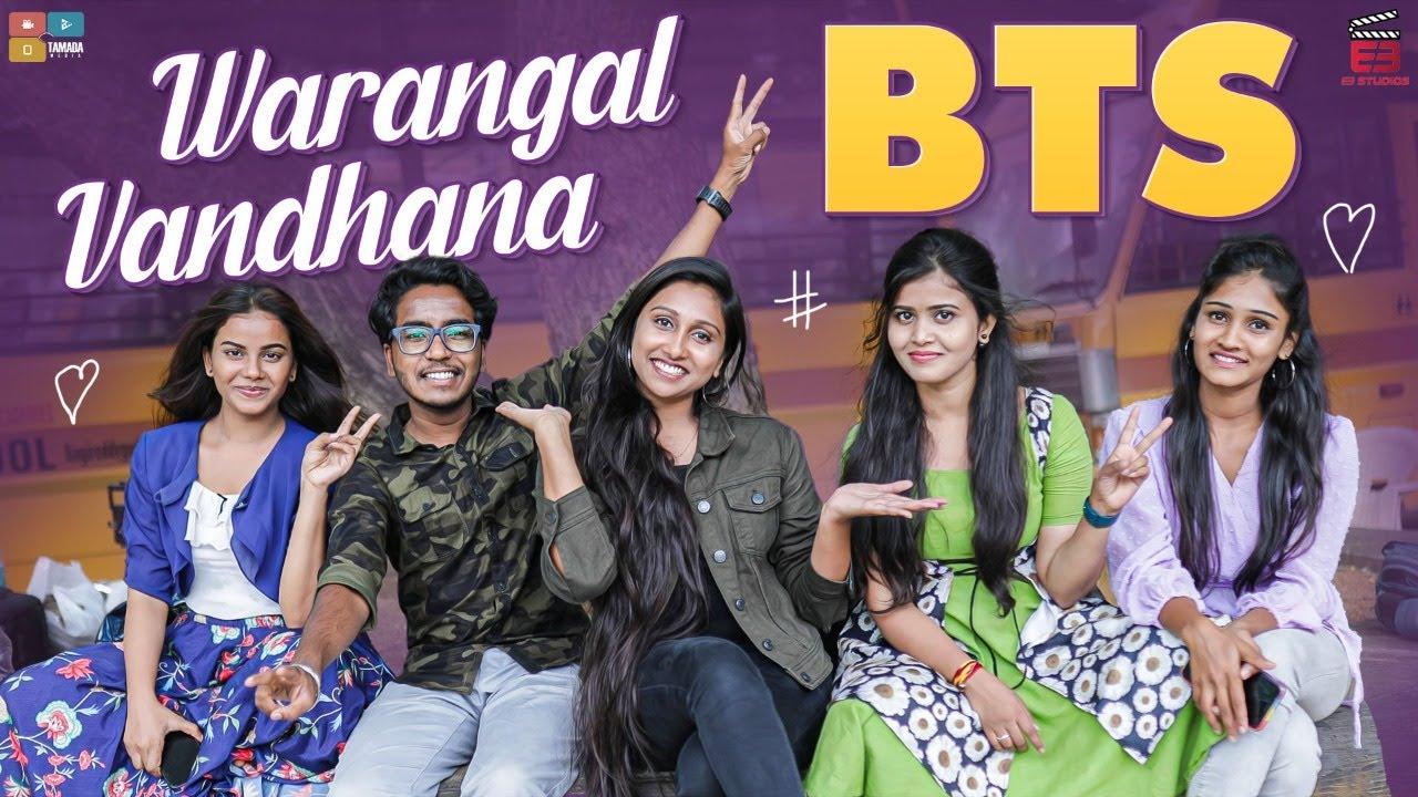 Warangal vandhana BTS || E3 Studios || Tamada Media
