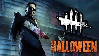 Jugando como Michael Myers en su propio mapa | Dead By Daylight | DLC : The Halloween Chapter |