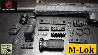 Magpul's New M-lok Accessories & Key Mod Comparison