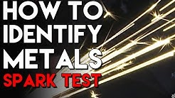 How to Identify Metals with Basic Shop Tools and the Spark Test | TIG Time