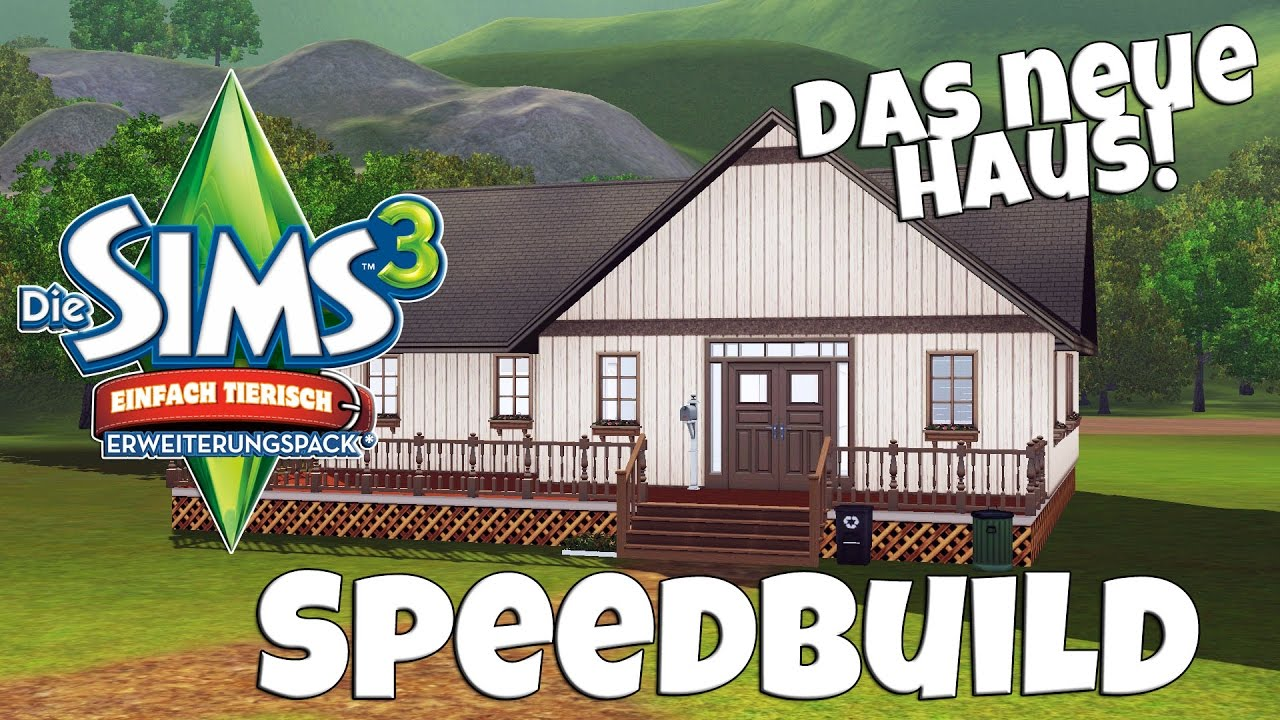 das neue einfach tierisch haus o speedbuild simfinity youtube. Black Bedroom Furniture Sets. Home Design Ideas