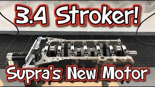 Surprise Supra Engine Upgrade 3.4 Stroker! 1500HP Capable!