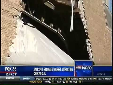 Salt Spill Becomes Tourist Attraction Chicago