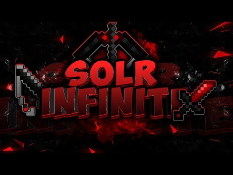 MCPE PVP TEXTURE PACK | SOLR INFINITE REVAMP ( +FPS BOOST ) IOS/ANDROID | V1.6.0