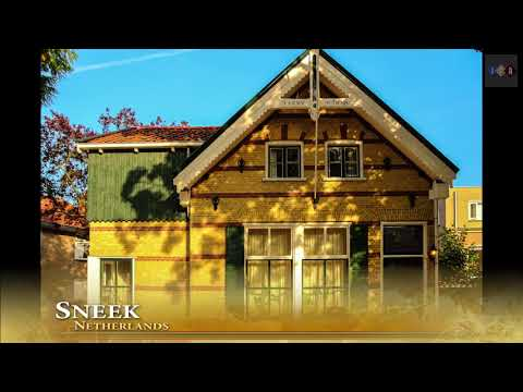 The beautiful city of Sneek in the Netherlands, Part 1